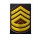 Rango 7 sargento primero, ¡Voy por la mitad del camino!