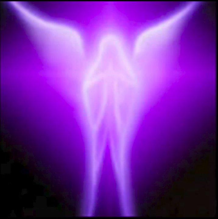 dans fond ecran ange violet ange_v10