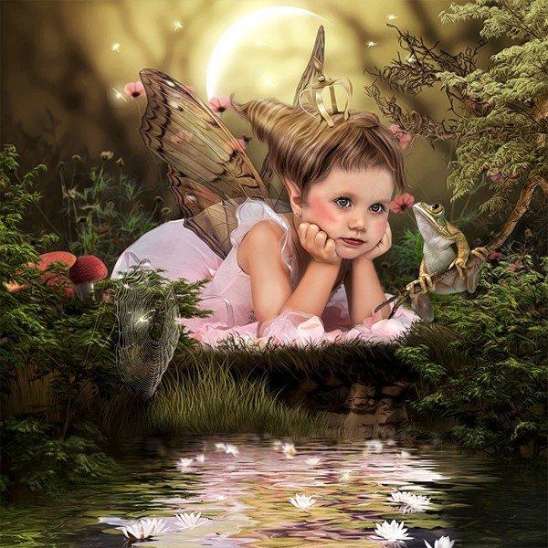 images et gifs fees et elfes a