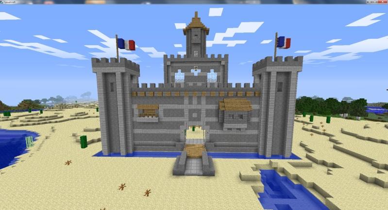 Mon chateau donnez moi vos impressions svp page 3 - Chateau de minecraft ...