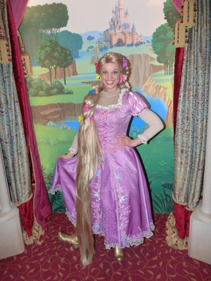 Photos avec les personnages disney page 2 - La princesse raiponce ...