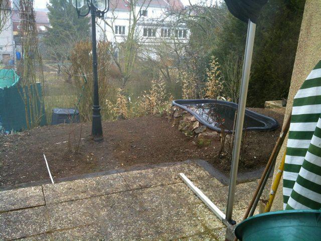 Mon nouveau bassin et mon projet for En bas de ma fenetre