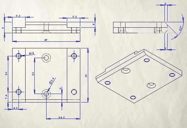 D buter avec solidworks - Plan 2d facile ...