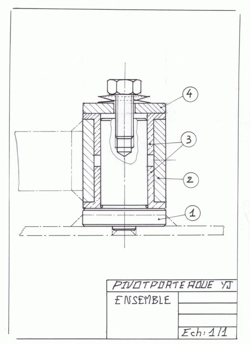 construction d 39 un porte roue sur une yj. Black Bedroom Furniture Sets. Home Design Ideas