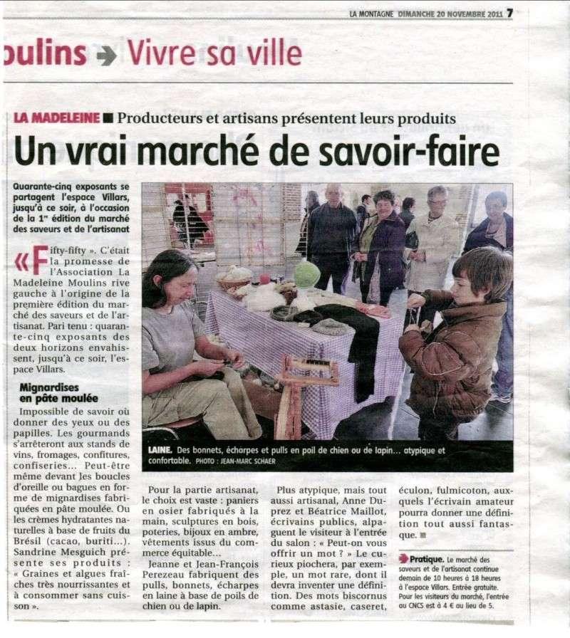 """""""La Montagne"""" 20/11/2011"""
