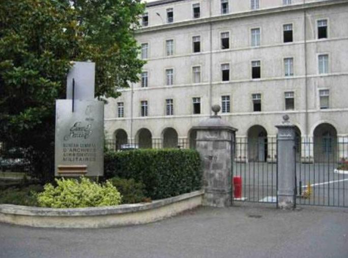 Le bureau central d 39 archives administratives militaires for Le bureau pau