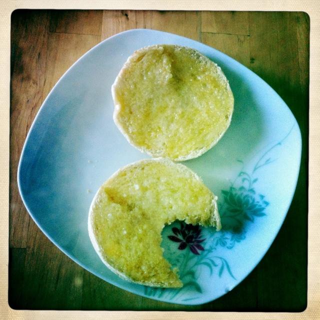 #Étés 2012 – C'est l'été, on réveille le petit-déjeuner : muffins anglais