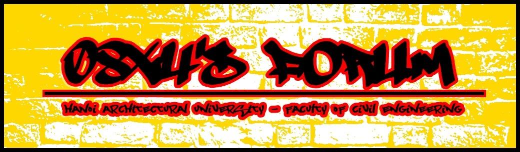 Lớp 08X4 Khoa Xây Dựng Trường Đại Học Kiến Trúc Hà Nội