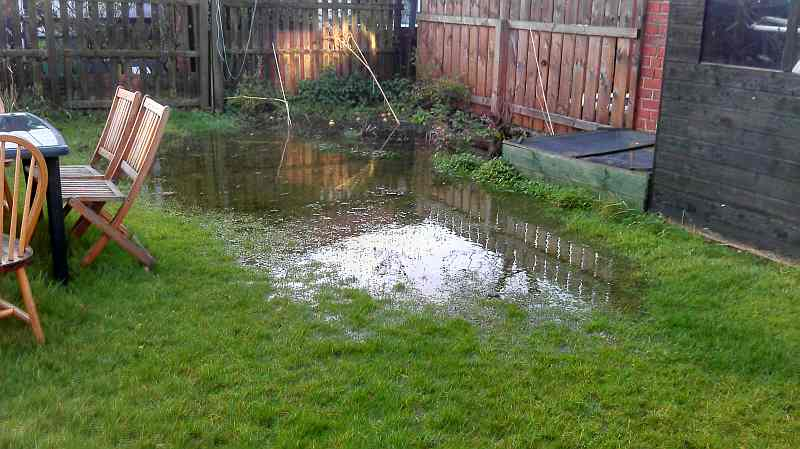 Drainage Solutions For Waterlogged