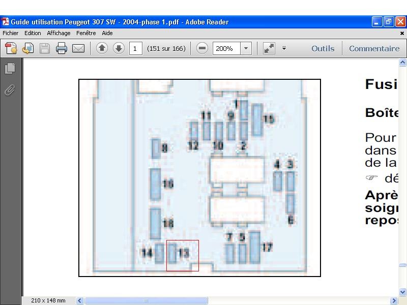 peugeot 307 voir le sujet dossier d pose repose du klaxon forum peugeot 307 307cc 307sw. Black Bedroom Furniture Sets. Home Design Ideas