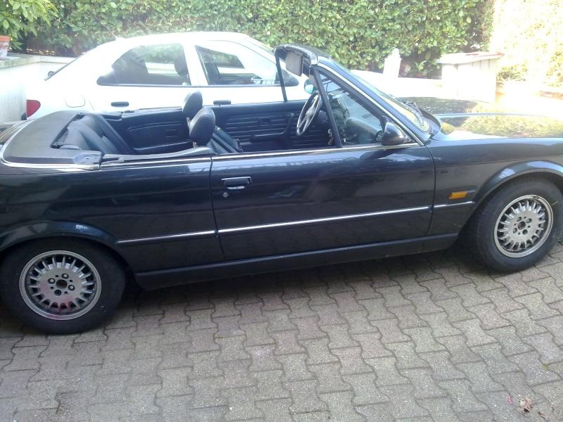 Bmw e30 325i cabriolet for Moquette 205 cabriolet