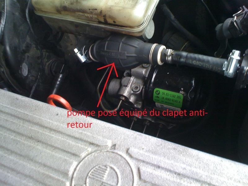 E36 m51 an95 tutoriel remplacement de moteur m51 - Poser un clapet anti retour ...