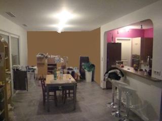Couleurs des murs pour espace ouvert forum interior designer virginie gari - Papier peint et peinture dans la meme piece ...