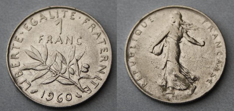1960 Franc Apres 1795 Systeme Decimal Forums Numismatique Com
