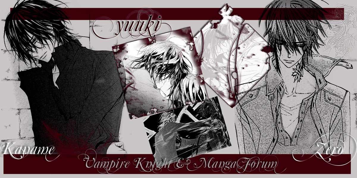 Vampire Knight & Manga Forum