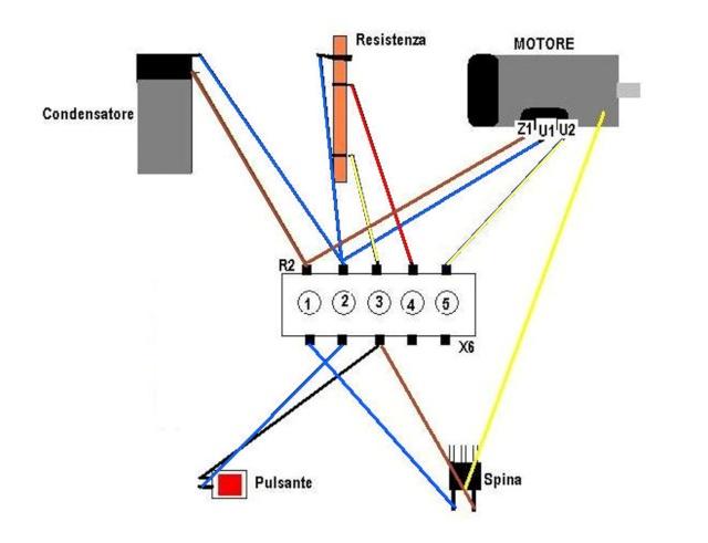 Schema Elettrico Elettroserratura Lavatrice : Schema elettrico motore lavatrice fili pannelli