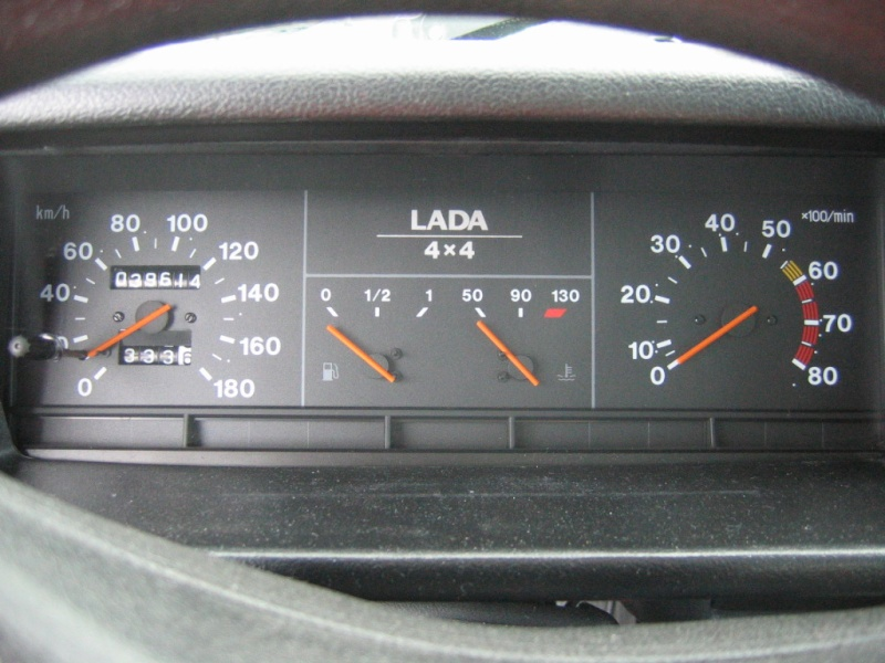Vente lada niva 4x4 gpl 1 re main encore sous garantie for Interieur lada niva