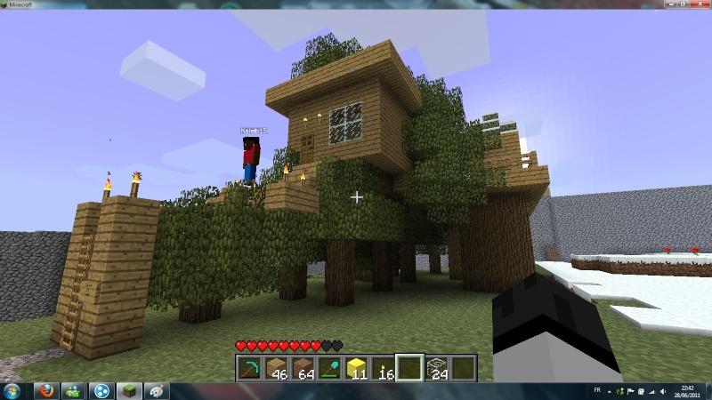 Belle Salle De Bain Minecraft : Minecraft] Ici nous montrons nos créations
