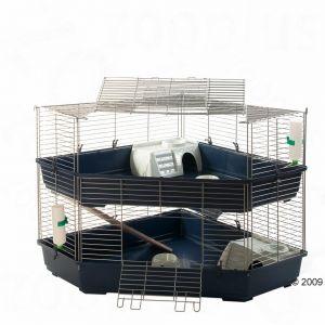 grande cage pour rongeurs 2 tages. Black Bedroom Furniture Sets. Home Design Ideas